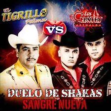 Duelo De Shakas Sangre Nueva by El Tigrillo Palma/Los Cuates de Sinaloa (CD,...
