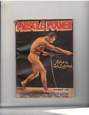 Muscle Power Bodybuilding fitness magazine HENRY ARANDS 10-46