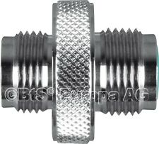 "Atemregler Adapter W21.8 Male auf Male G5/8"" 300 Bar"
