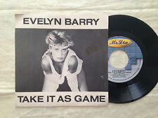Evelyn Barry ‎– Take It As A Game - 7' Vinile 45 giri