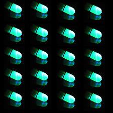 20 X Blue LED Light Night Fishing Lamp Luminous Stick Fish Lure Bite Alarm Sales