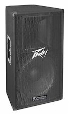 "Peavey PV 115D Single 15"" Pa Portable Loudspeaker Enclosure 3602020 New"