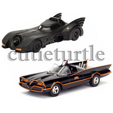 Jada Batman Classic Batmobile 1966 TV Series & 1989 Batmobile 1:32 98225 & 98266