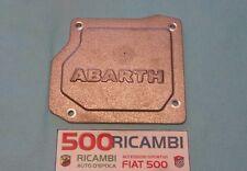 FIAT 500 F/L/R 126 TAPPO COPERCHIO CAMBIO IN ALLUMINIO CON LOGO ABARTH 595