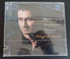 PIOTR ANDERSZEWSKI New CD Bach Beethoven Webern 2004 Sealed FREE SHIPPING
