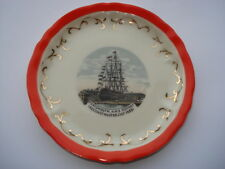 """H.M.S.""""VICTORY"""" PORTSMOUTH RECONSTRUCTED JULY 1928 SOUVENIR PIN DISH"""
