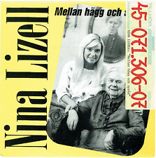 Nina Lizell - Mellan hägg och syren (rar swedish single) - Radio Promo