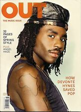 OUT ~ MARCH 2014 #232 ~ THE MUSIC ISSUE ~ ANGEL HAZE ~ DEVONTE HYNES ~ 32p STYLE