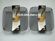 2 X QUICKA CHIPS OVEN TRAY FOR CHIPS MESH BASKET CRISPER CHIPS - CHRISTMAS GIFT