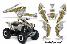 AMR Racing CanAm Renegade500/800/1000 Graphic Kit Wrap Quad Decal ATV All BLLT Y