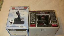 Thrustmaster Flight System Top Gun Platinum Joystick,And ,Throttle Control