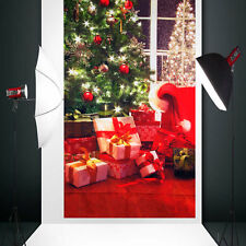 Christmas Tree Backdrop Photography Vinyl background studio Photo Prop 3X5FT New