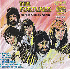 "THE FORTUNES ""Here It Comes Again"" 15 Tracks CD Neu & OVP Cosmus DSB"