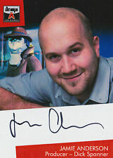The Lost Worlds Of Gerry Anderson Autograph Card JA1 Jamie Anderson