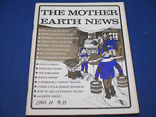 The Mother Earth News, March 1972, It's Maple Syrup Time!Foraged Turtles, Ads
