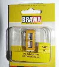 SH  Brawa 5442 Telefonzelle IV, runde Ausführung