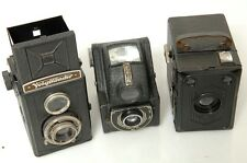ZEISS ERABOX, VOIGTLANDER BRILLANT & ENSIGN FUL-VUE BOX CAMERA 120 FILM   0930