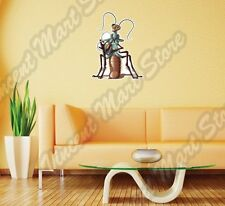 "Alien UFO Cockroach Outer Space Bug Wall Sticker Room Interior Decor 18""X25"""