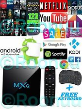 2017 MXQ M8S PRO Quad Core 4K Android 6.0 TV Box NEW KODI XBMC 16.1 Media Player
