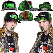 Kreepsville Zombie Baseball Hat Sports Brain Punk Goth Halloween Horror Cap