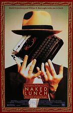 Naked Lunch movie poster 11 x 17 inches - David Cronenberg