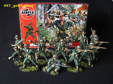 Airfix 1/32  Australian Infantry x 14 boxed WW2. professionally painted.