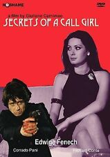 SECRETS OF A CALL GIRL~1973 VG/C UNRATED DVD~EDWIGE FENECH CORRADO PANI