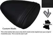 BLACK STITCH CUSTOM FITS BUELL 1125 R CR XB 12 R XB 9 R REAR SEAT COVER