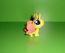 A1 FIGURINE PETSHOP LITTLEST PET SHOP PAPILLON JAUNE YELLOW DRAGON FLY