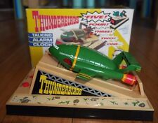 MIB Vintage Thunderbirds Thunderbird 2 Talking Alarm Clocks Rare Wesco 1992 Mint
