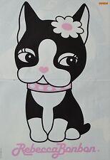 REBECCA BONBON - A3 Poster (ca. 42 x 28 cm) - Plakat Fan Sammlung NEU