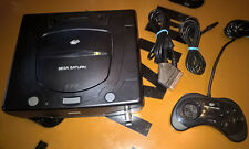 ## SEGA SATURN 2G + Pad + Strom + TV-Anschluss - REGIONFREE + 50/60Hz - TOP ##