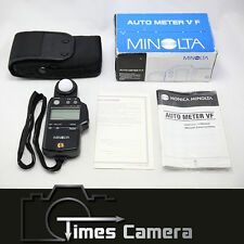 Minolta Auto Meter VF Light Exposure Meter