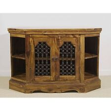 Mercers Furniture Indian Jali Corner TV Unit