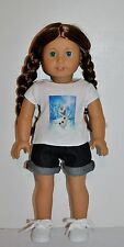 """AMERICAN MADE DOLL CLOTHES FOR 18 INCH GIRL DOLLS DRESS LOT """"FROZEN- OLAF"""" SHORT"""