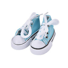 7.5cm Canvas Shoes BJD Doll Toy Mini Doll Shoes for 16 Inch Sharon doll BootsITB