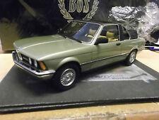 BMW serie 3er 323i BAUR CABRIO e21 1979 Verde Chiaro Green Met Bos resin 1:18