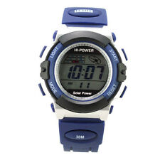 Solar & Battery Power Watch Multifunction Digital Water Resistant Sport Design