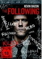 The Following - Die komplette dritte Staffel [4 DVD] Kevin Bacon FSK 18