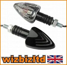 Motorcycle CLEAR E-MARKED Arrow Indicators INDARRBK