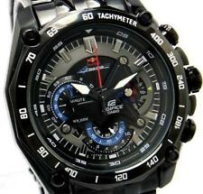 Casio Edifice Men's Wristwatch- EF- 550RB FULL BLACK SPORT CHRONOGRAPH MEN WATCH