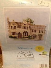 "Cross Stitch Kit By Derwentwater Designs, Minuets Burford 3.5"" X 4"""