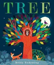 Tree : A Peek-Through Picture Book by Britta Teckentrup (2016, Hardcover)