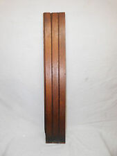 Antique Victorian Beadboard Wainscot - 1885 Butternut Architectural Salvage