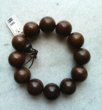 20MM Nice Natural Blackwood Beads Wood Bracelet For Cool Man and Fashion Man