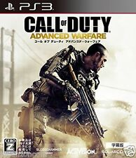 Used PS3  Call of Duty Adavned War Fare SONY PLAYSTATION 3 JAPAN JAPANESE IMPORT