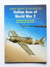 Aeronautica - Italian Aces of WWII - Osprey Aircraft of the Aces 34 - 2000