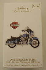 Hallmark 2012 Harley Davidson Motorcycle Milestone #14 Series Christmas Ornament