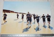 PHOTO 29.5 X 21 PARIS SAINT-GERMAIN PSG DECRASSAGE HOARAU FOOTBALL 2011-2012