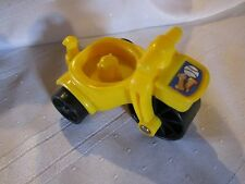 Fisher Price Little People yellow tricycle bike park ball dog treats bone toy